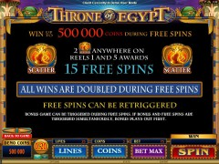 Throne Of Egypt igralni aparati aparati77.com Quickfire 2/5