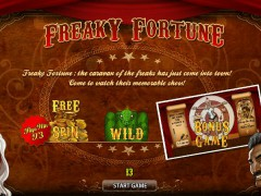 Freaky Fortune - World Match