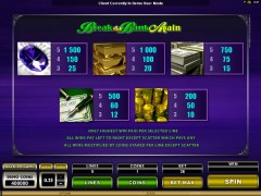 Mega Spins Break Da Bank igralni aparati aparati77.com Microgaming 2/5