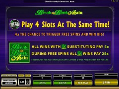 Mega Spins Break Da Bank igralni aparati aparati77.com Microgaming 4/5