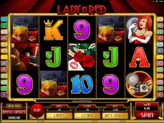 Lady In Red - Microgaming