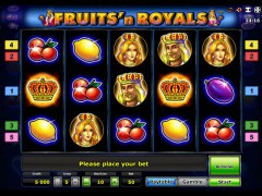 Fruits and Royals - Novoline