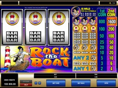 Rock the boat - Microgaming