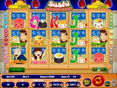 Sushi Booshi Mushi - Wirex Games