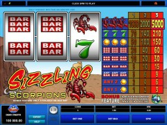 Sizzling Scorpions - Microgaming