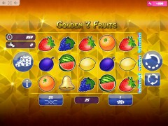 Golden7Fruits igralni aparati aparati77.com MrSlotty 1/5