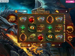 Super Dragons Fire igralni aparati aparati77.com MrSlotty 1/5