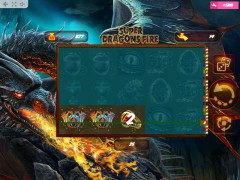Super Dragons Fire igralni aparati aparati77.com MrSlotty 2/5