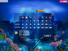 Mermaid Gold igralni aparati aparati77.com MrSlotty 5/5